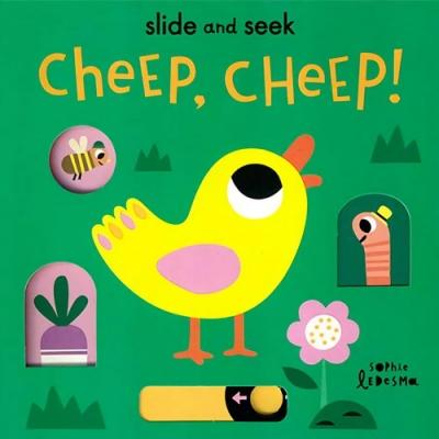 Slide And Seek:Cheep, Cheep! 小雞的農場生活操作書