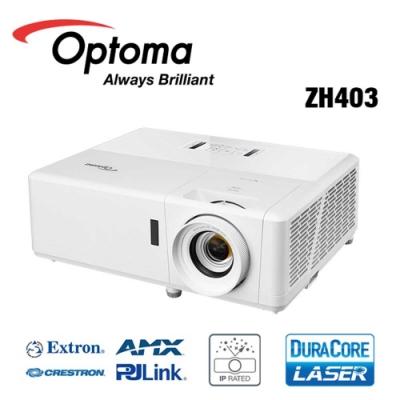 Optoma 奧圖碼 ZH403 雷射高亮度工程及商用投影機 4000流明 1080p 公司貨