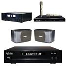 美華 HD-889+SAK-5888+SK-8610+MI-889(伴唱機 3TB+卡拉OK套組)