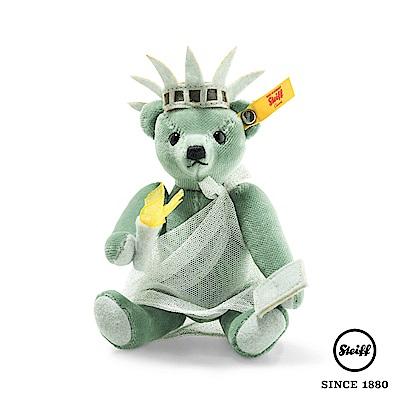 STEIFF德國金耳釦泰迪熊 自由女神泰迪熊 New York(收藏版)