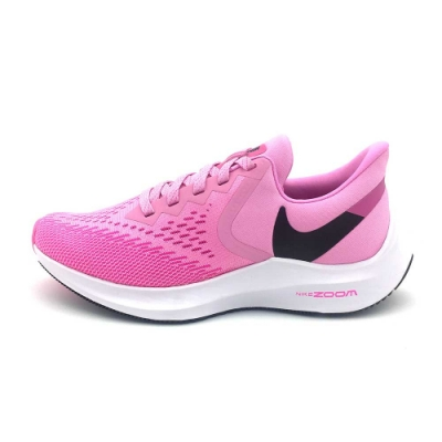 NIKE WMNS ZOOM WINFLO 6 女慢跑鞋-粉紅-AQ8228600