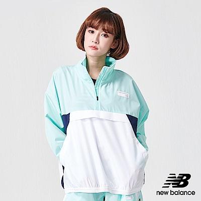 New Balance 長袖上衣_AWJ91557LRF_女性_藍色
