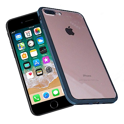 Carlgold 明睿系列 iPhone 7/8 Plus 防爆奈米透明玻璃殼