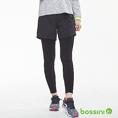 bossini女裝-速乾針織貼身褲02黑