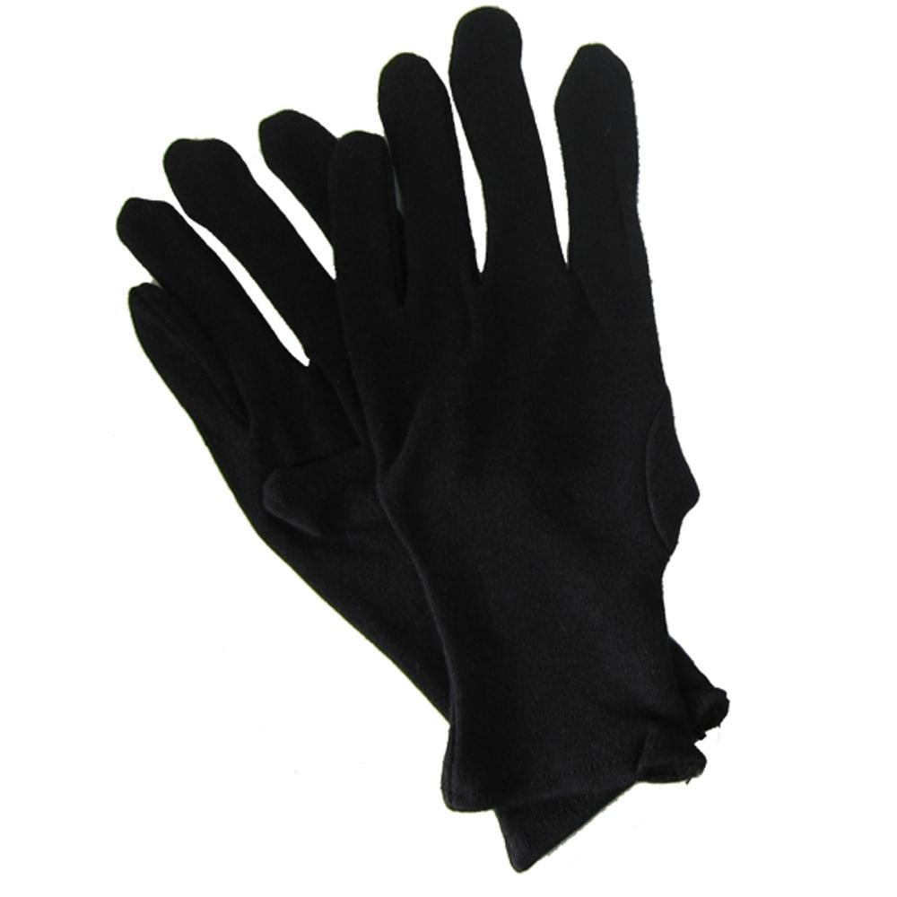 純棉黑手套-12雙入