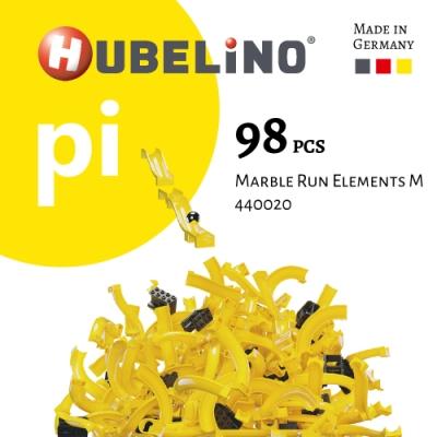 【德國HUBELiNO】  Pi 系列軌道積木 98pcs(軌道套件)