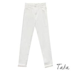 水洗棉彈力男友牛仔褲 共二色 TATA-(S~L)
