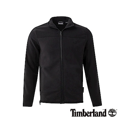 Timberland 男款黑色保暖抓絨外套|A1NE2