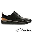 Clarks樂活都市Garratt Lace輕量紳士休閒鞋-CLM32299SC18