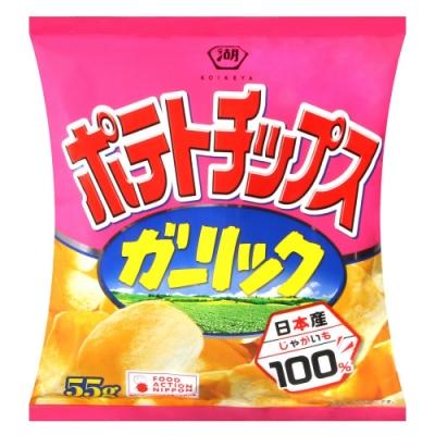 湖池屋 蒜味薯片(55g)