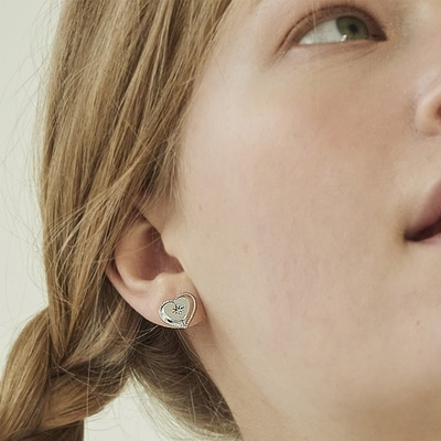 NOONOO FINGER MADEMOA SILVER EARRINGS 耳環