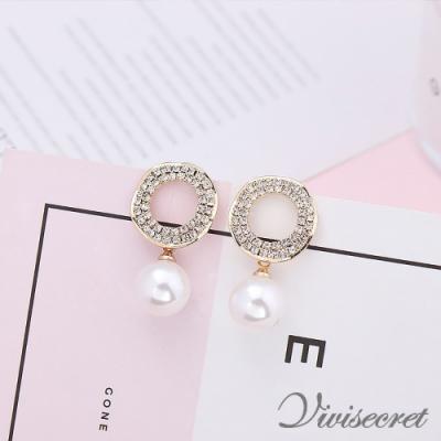 VIVI SECRET 復古時尚珍珠耳環