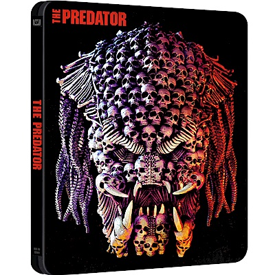 終極戰士:掠奪者 UHD+BD  鐵盒版  The Predator (2018)