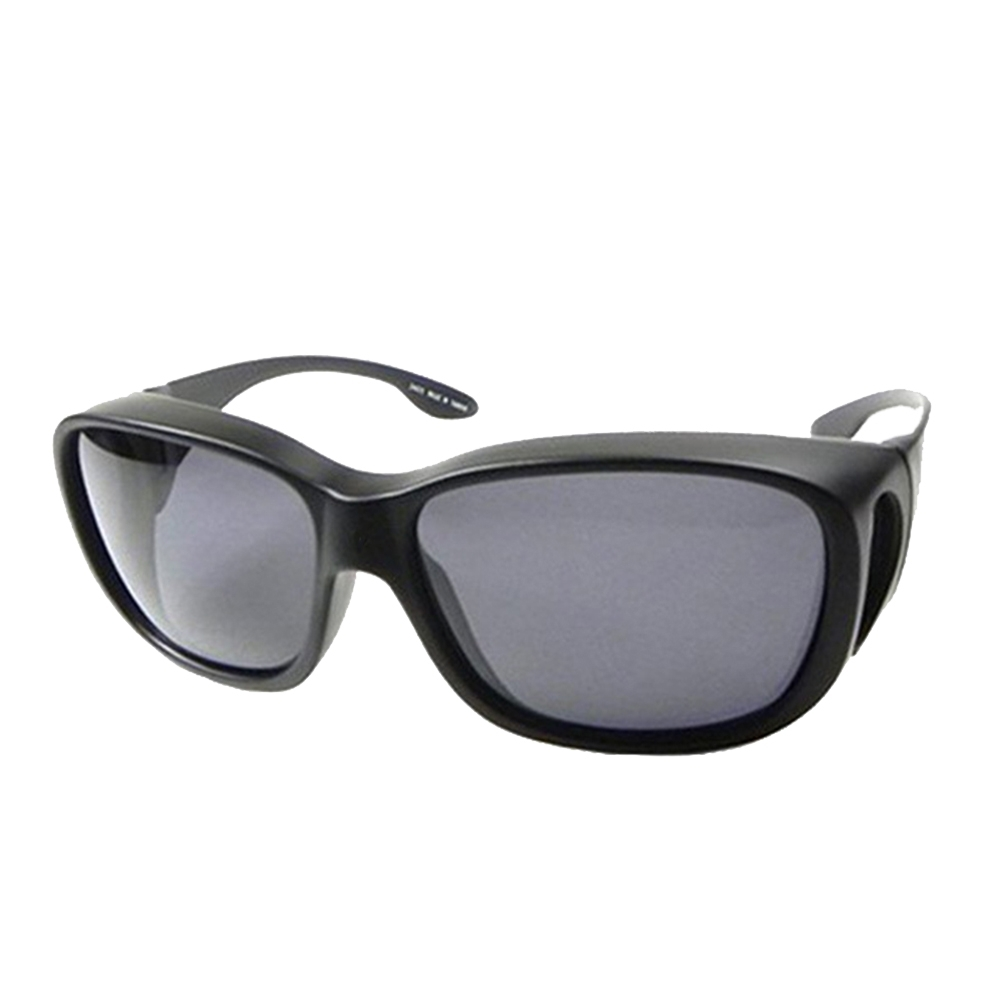 【Docomo】可包覆式Polarized偏光套鏡 頂級寶麗來偏光鏡片 抗UV400首選(加大型設計 配戴超舒適)