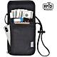 iware RFID掛頸防搶包 防掃描卡片側錄 隨身隱形防盜包 護照包證件夾 旅行旅遊收納包 product thumbnail 1