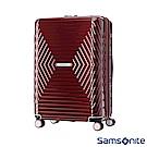 Samsonite新秀麗 25吋Astra 立體幾何光澤PC可擴充TSA海關鎖行李箱(紅)