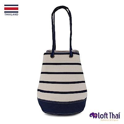 Loft THAI | U.Bucket | Stripe/navy
