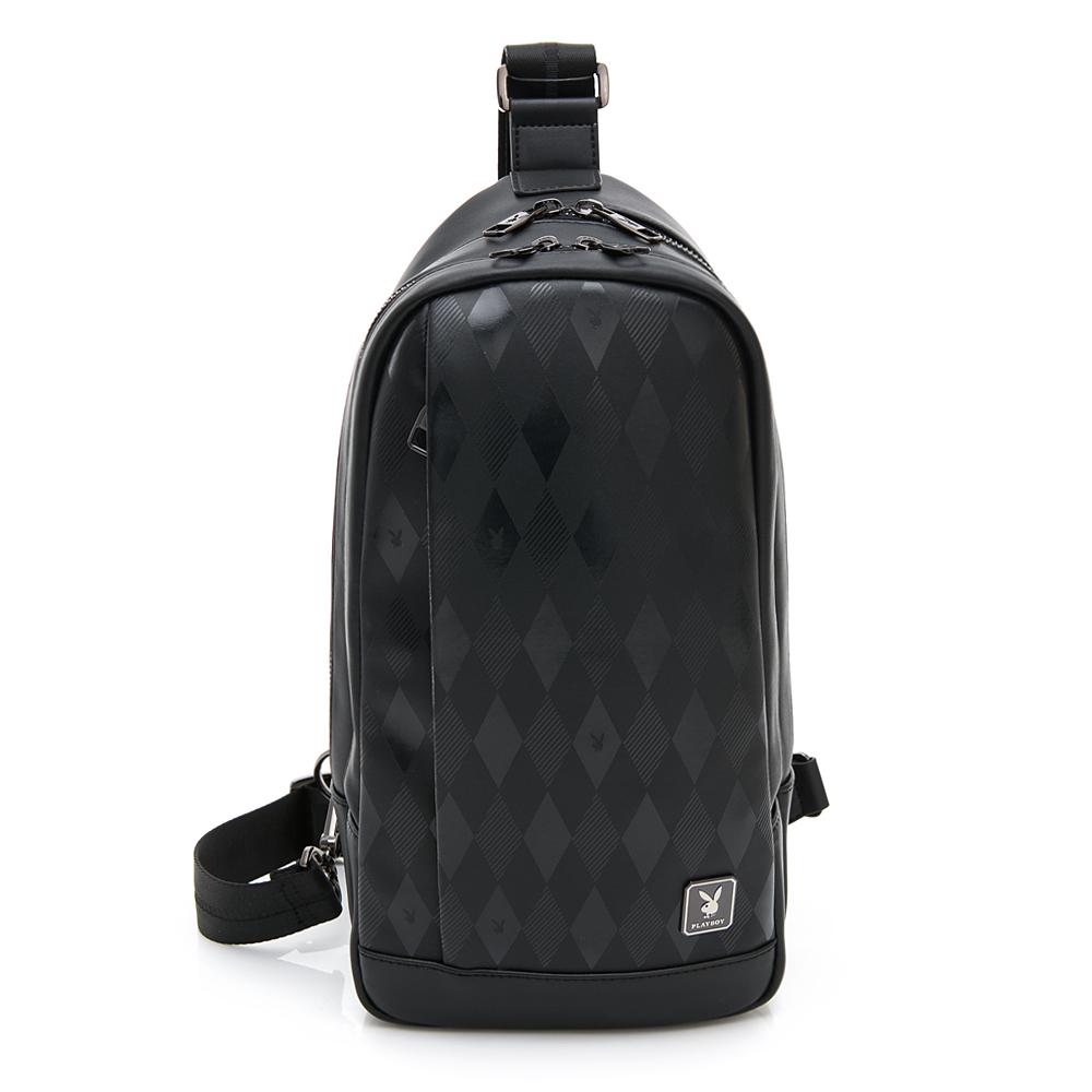 PLAYBOY- 單肩背包 Formula 8.0系列-黑色