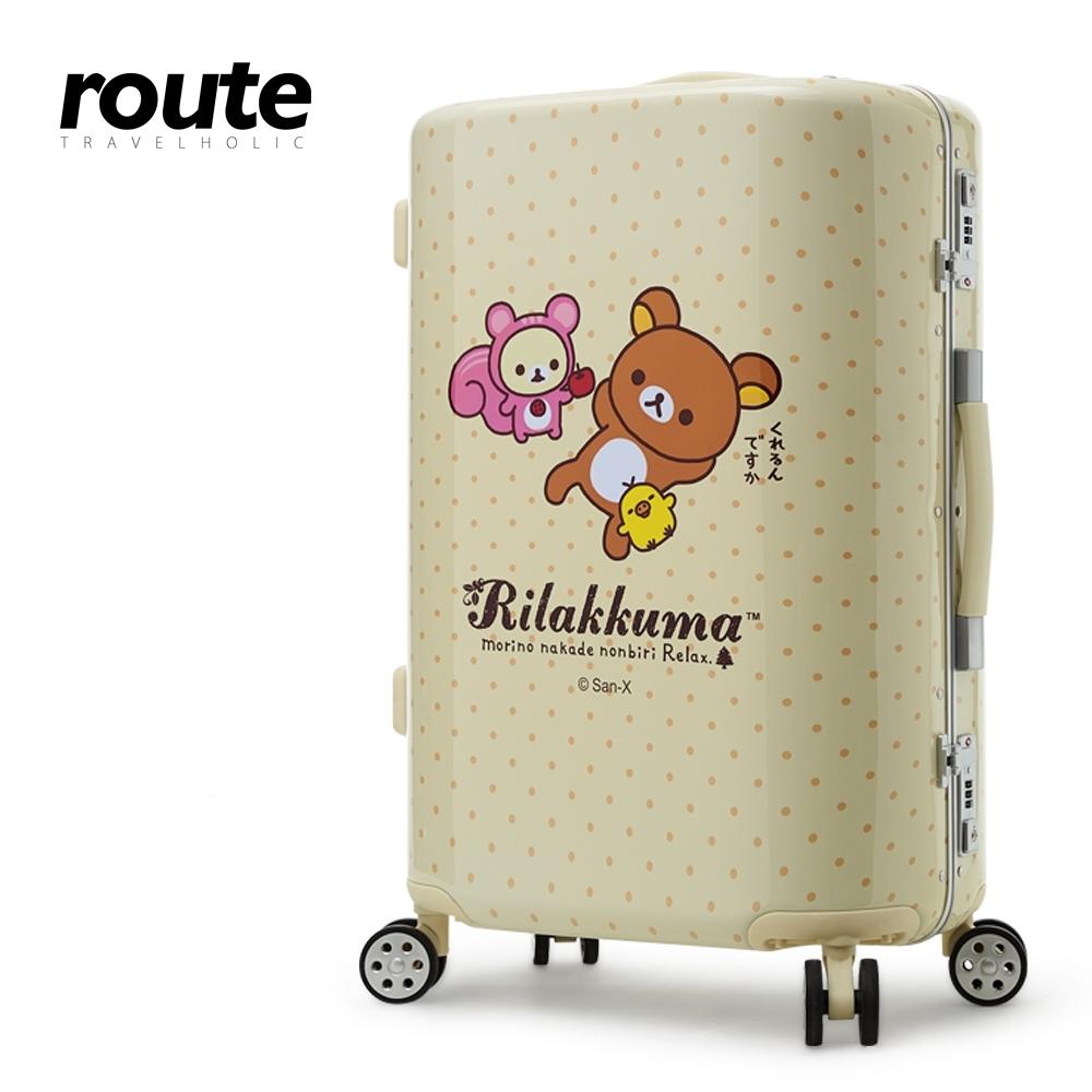 Rilakkuma 拉拉熊 甜享採果趣 25吋鋁框行李箱
