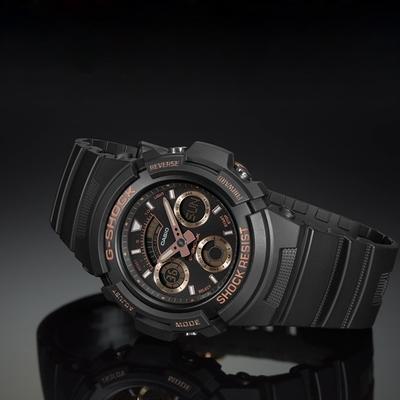CASIO G-SHOCK 世界時間多功能運動錶(AW-591GBX-1A4)