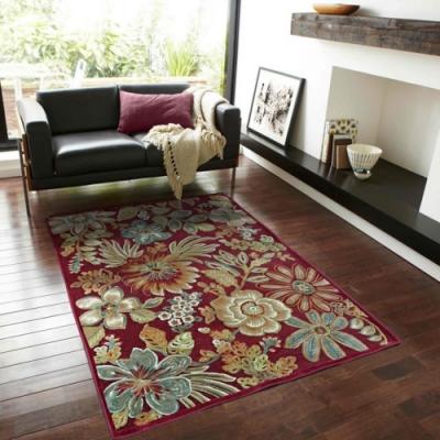 范登伯格 - 赫諾 立體絲質地毯 - 爭豔 (135 x 195cm)
