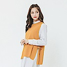 Hang Ten - 女裝 - 側邊綁帶背心-黃色