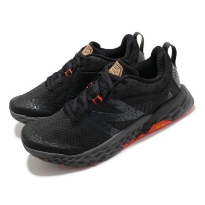 New Balance 慢跑鞋 Fresh Foam Hierro 男女鞋 紐巴倫 輕量透氣 舒適避震 情侶款 黑 紅 MTHIERK6D