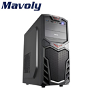 Mavoly 松聖【紅龍果】ATX電腦機殼《黑》