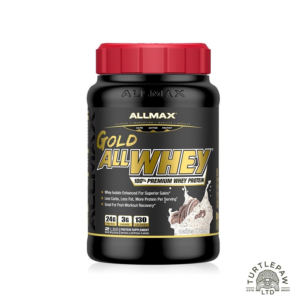 加拿大ALLMAX 奧美仕金牌乳清蛋白奶油餅乾飲品1瓶 (907公克)