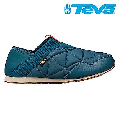 TEVA Ember Moc 男經典波羅麵包鞋 深藍