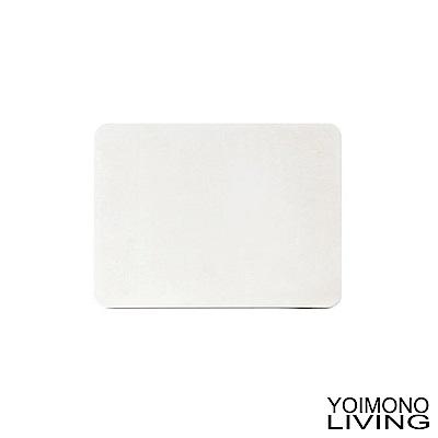 YOIMONO LIVING 珪藻土輕巧足適速乾地墊-白色