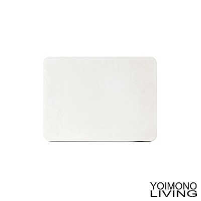 YOIMONO LIVING 「珪藻土」輕巧足適速乾地墊 (白色)