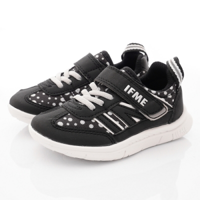 IFME健康機能鞋 Light超輕鞋款 NI72702點點黑(中小童段)