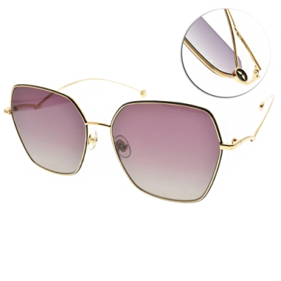 MOLSION 太陽眼鏡 Angelababy代言 /金-漸層紫灰鏡片#MS7086 A60