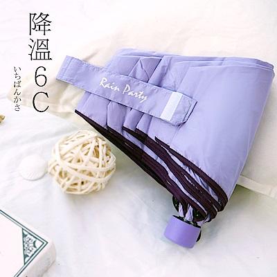 好傘王 手開傘系_吹不壞不透光黑膠瑜珈傘3.1版(紫色)