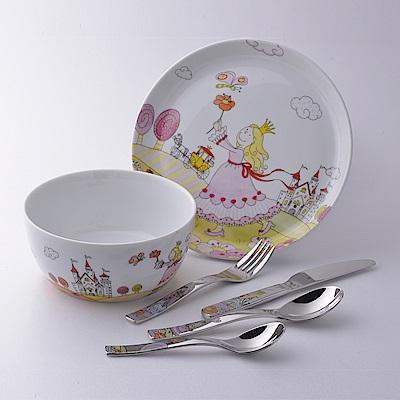 德國WMF 公主兒童餐具組6入