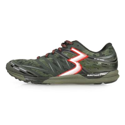 361度 361° 男慢跑鞋-路跑 軍綠紅