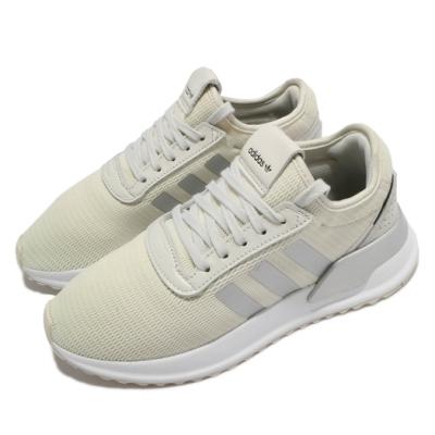 adidas 休閒鞋 U Path X 運動 女鞋 愛迪達 輕量 透氣 舒適 球鞋 穿搭 米白 灰 EF5476