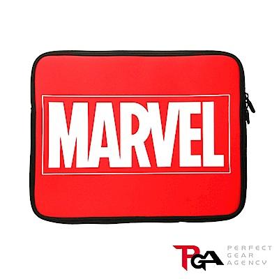Marvel 13.3吋筆電/平板輕量防潑水 保護袋 收納袋-Logo