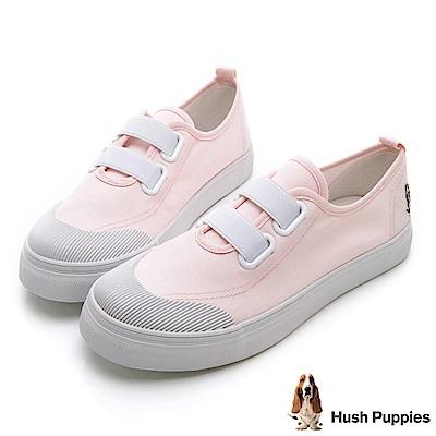 Hush Puppies 鬆緊直套式懶人鞋-粉色