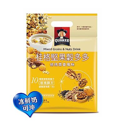 桂格 堅果穀多多系列-核桃栗香風味(10入/袋)