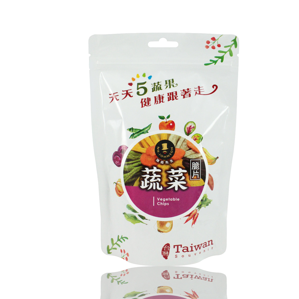 強森先生 綜合蔬菜脆片(純素)(100g)