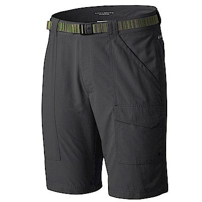 Columbia 哥倫比亞 男款- 防曬50防潑短褲-深灰 UAE01350DY