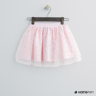Hang Ten -童裝 - 星星層次紗裙 - 粉