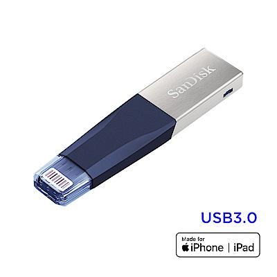 SanDisk iXpand Mini 隨身碟 32GB (公司貨) 新配色 藍色
