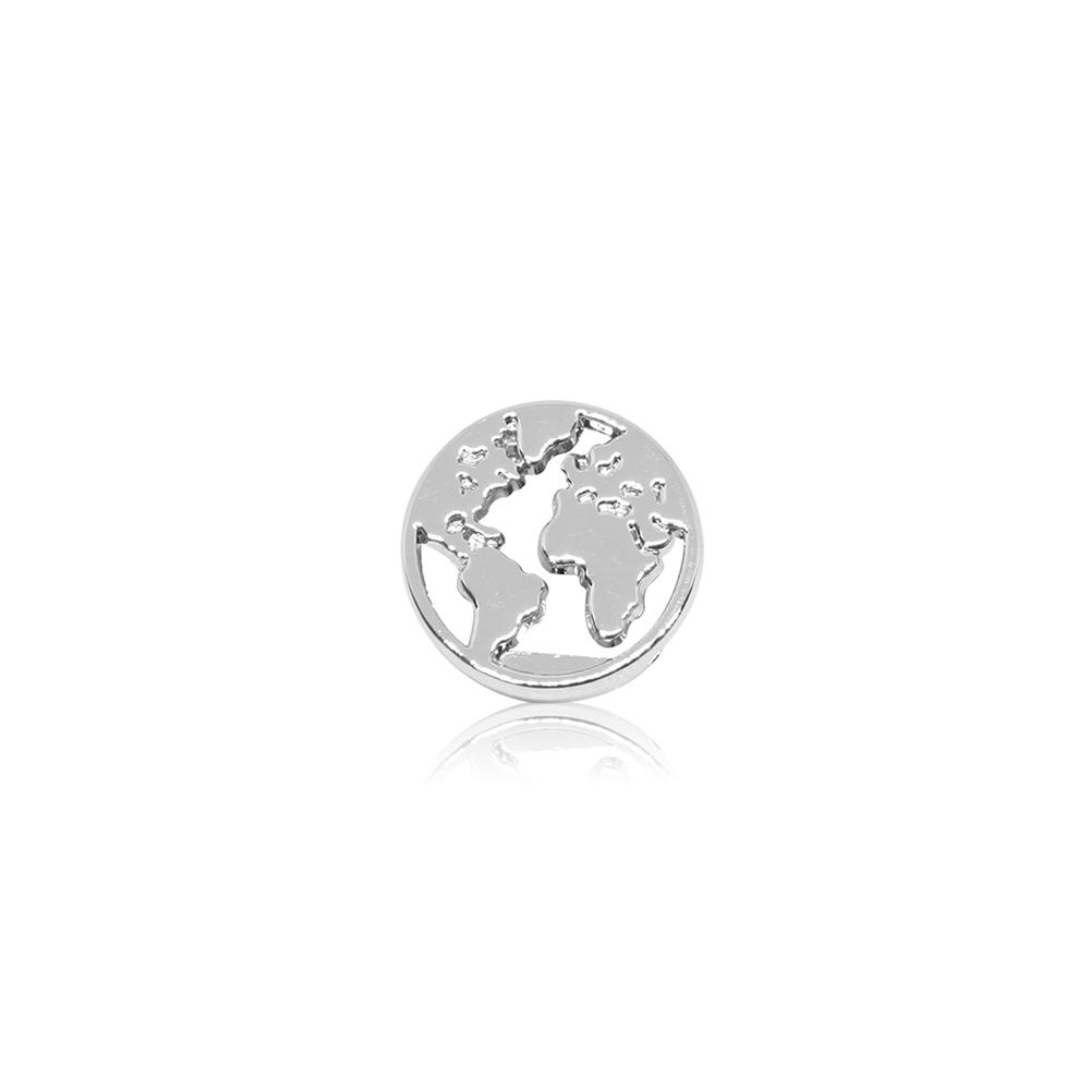 HOURRAE 環遊世界 地球 優雅銀色系列 小飾品