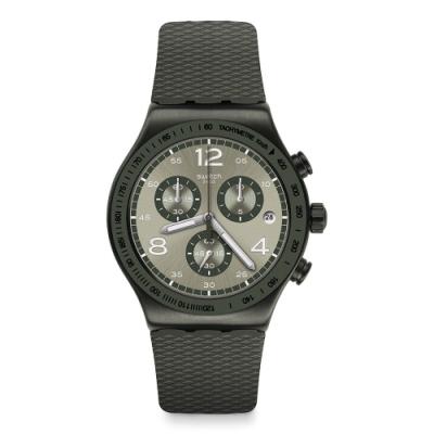 Swatch 金屬系列手錶 TURF WRIST -43mm
