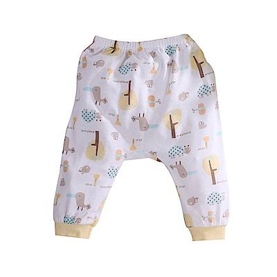 印花純棉薄款初生嬰兒褲 a70237 魔法Baby