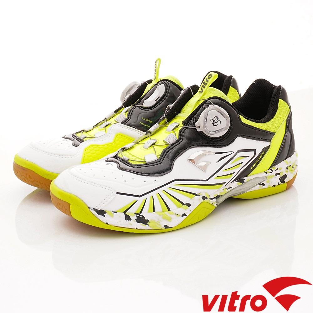 Vitro韓國專業運動品牌-HELIOS IV DX羽球鞋-白黑(女)