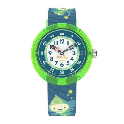 FlikFlak 兒童錶 GLOWLINS 綠光仙子-31.85mm